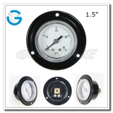 1.5 back mounted air pressure gauges with snap in lens panel mounted