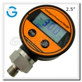 2.5 Plastic case bottom connection LCD display manometers