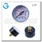Air compressor pressure gauges 1.5inch 40mm dial with back connection